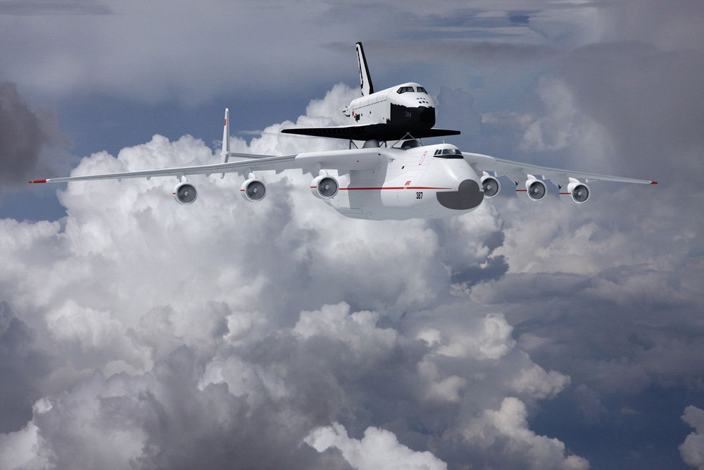 Space shuttle BURAN for sale